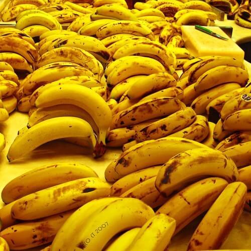 Cojile de banane sunt benefice pentru piele