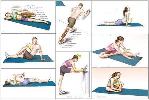 9 exerciții de întindere esențiale