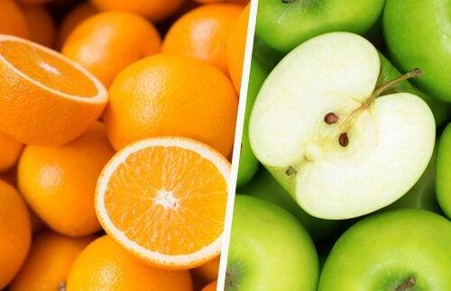 Poți folosi diverse fructe pentru a prepara băuturi detoxifiante pentru slăbit