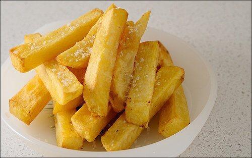 Cartofi prăjiți ce nu se regăsesc într-un mic dejun sănătos