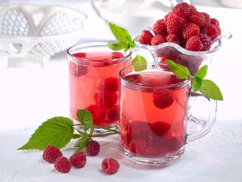 Ceai de zmeură printre aceste remedii pentru incontinența urinară