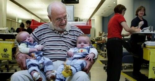 Sângele lui James Harrison a salvat mulți copii