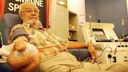 Sângele lui James Harrison conține un anticorp special
