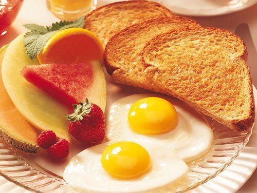 Meniu de mic dejun sănătos