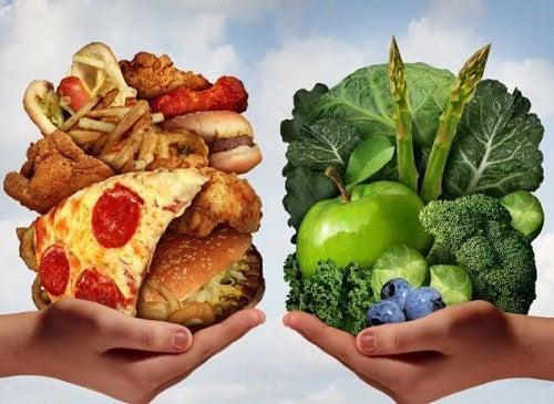 Mintea și sănătatea psihică influențează alegerile alimentare