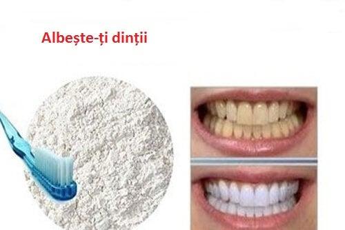 Curăță-ți dinții cu o pastă de dinți naturală