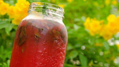 Semințele de pepene verde pot fi folosite pentru a produce un ceai detoxifiant