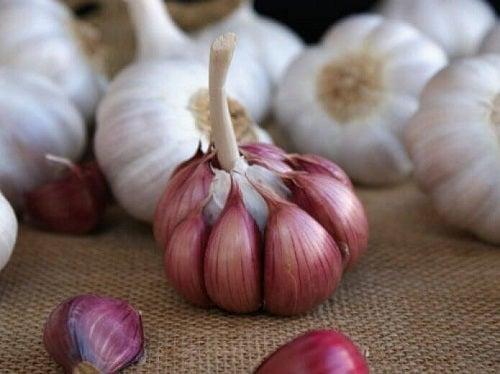 Usturoiul este folosit la infuzii care scad colesterolul