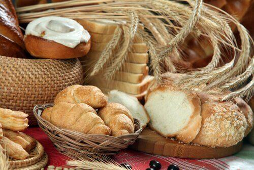 Alimente care produc mucus precum produsele din făină de grâu