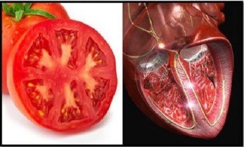 Roșiile sunt printre cele mai bune alimente sănătoase pentru inimă