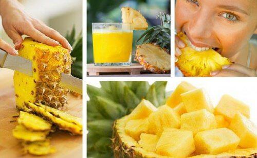 Ananasul este un fruct detoxifiant