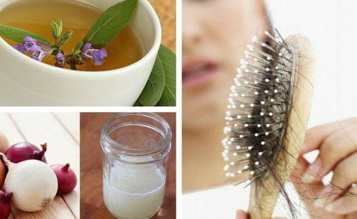 Există diverse remedii pentru căderea părului