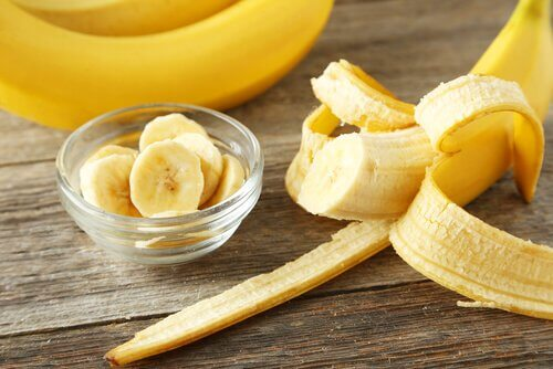 Cojile de banane sunt foarte benefice