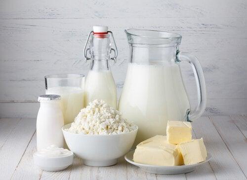 Produsele lactate sunt alimente care produc mucus