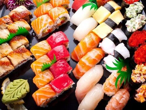 Prânzul în dieta japoneză pentru slăbit