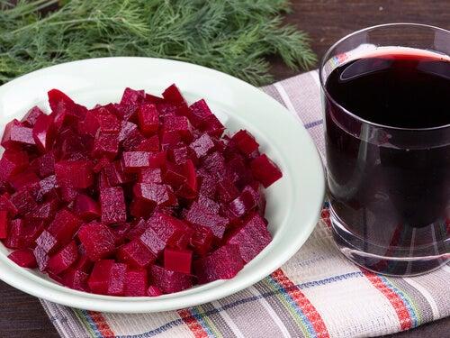 Sucul de sfeclă tratează anemia