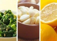 Slăbește cu broccoli, usturoi și lămâie