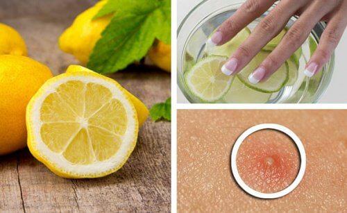 Lămâia are și utilizări cosmetice