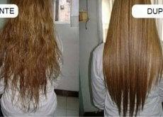 Optează pentru îndreptarea părului cu produse naturale