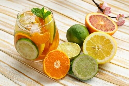 Citrice folosite pentru a combate lipsa de vitamine