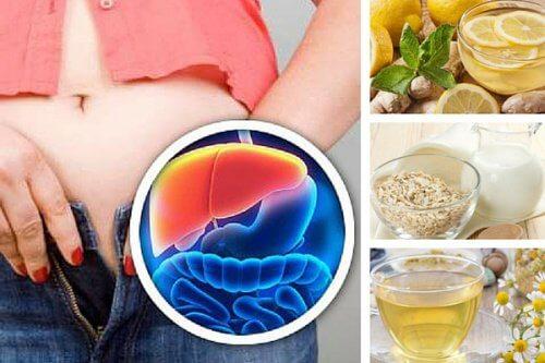 5 băuturi de seară pentru detoxifierea ficatului