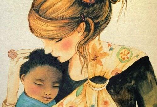 O îmbrățișare poate vindeca sufletul unui copil