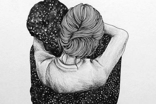 O îmbrățișare strânsă risipește îndoielile