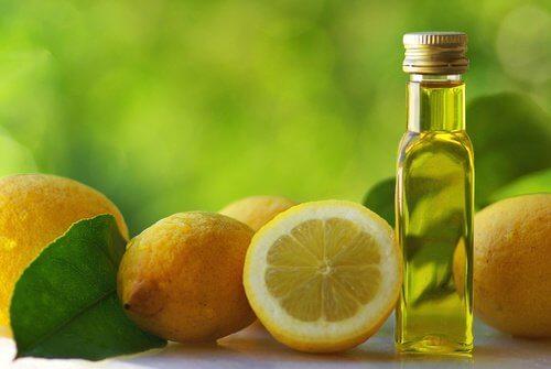Lămâi și ulei de măsline