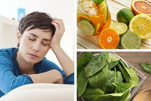 Lipsa de vitamine provoacă oboseală