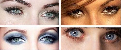 Machiajul ochilor înfrumusețează chipul
