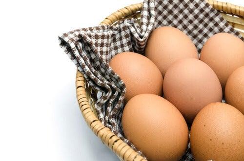 Ouă potrivite pentru a combate lipsa de vitamine