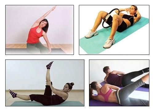5 exerciții Pilates pentru talie și șolduri