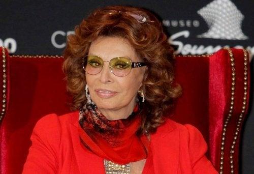 Actrița Sophia Loren simbolizează tinerețea eternă