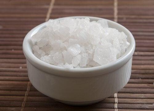 Beneficiile magneziului sun formă de sare