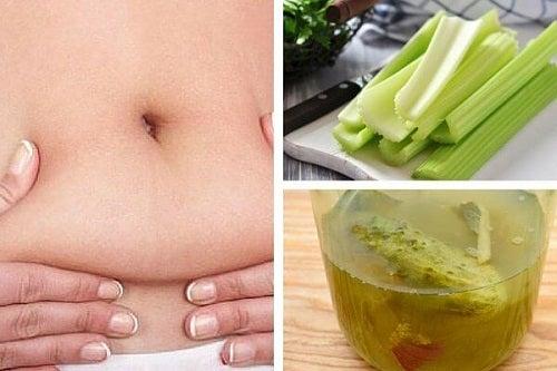 Ceaiul de țelină stimulează pierderea în greutate