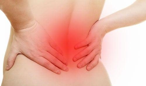 Dureri de spate în caz de hernie de disc