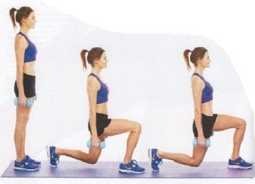 Exerciții care subțiază și tonifiază coapsele și fesele