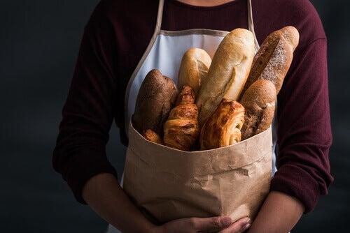 Pâine din făină cu gluten
