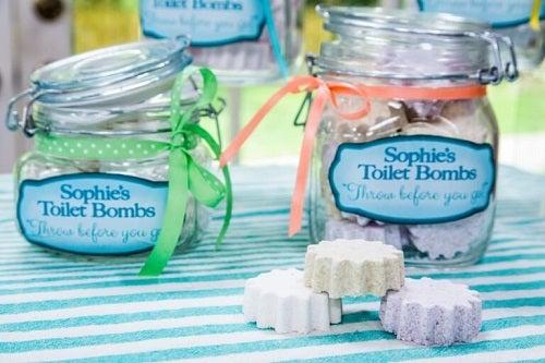Pastile odorizante pentru toaletă din ingrediente organice