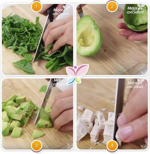 Un smoothie cu avocado combate căderea părului