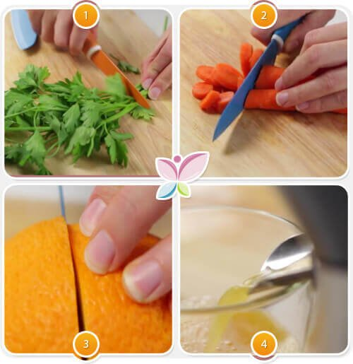 Acest suc de morcovi și portocale nu necesită ingrediente costisitoare