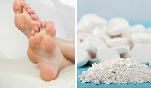 Tratament cu aspirină pentru bătături