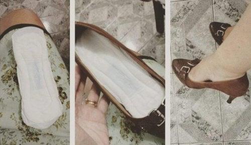 Branțurile fac pantofii mai strâmți