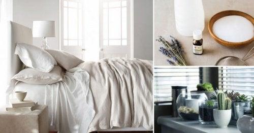 Dezinfectează camera cu 8 trucuri simple