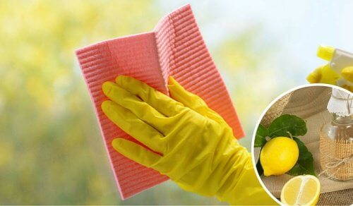 Curăță geamurile și obiectele din sticlă cu produse naturale