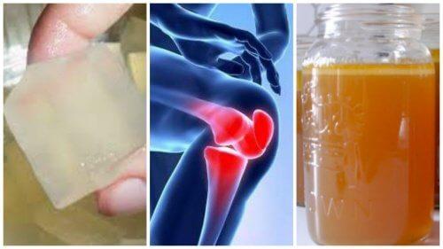 Următoarele remedii cu gelatină te ajută să ameliorezi durerile articulare