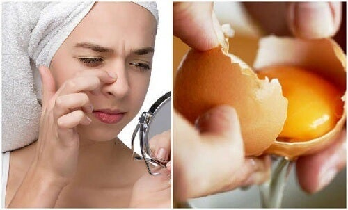 Masca pe bază de ou înfrumusețează tenul