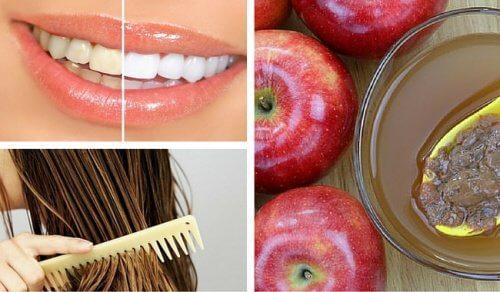 Oțetul de mere – 8 utilizări în cosmetică