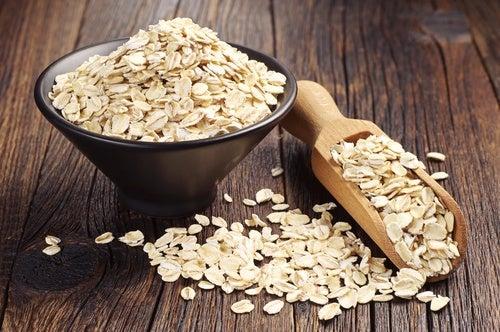 Combinația de ovăz și semințe de chia este foarte hrănitoare