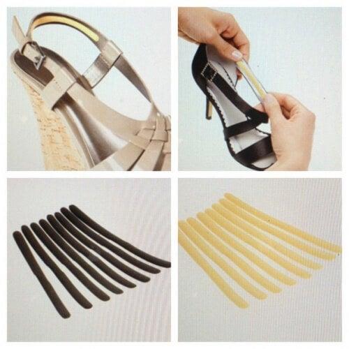 Pernuțele adezive previn leziunile cauzate de pantofii incomozi